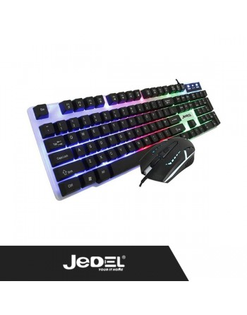 Jedel Gaming keyboard &...